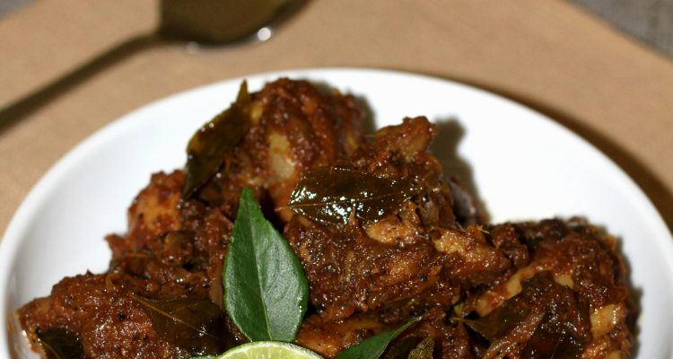 Chicken Dry Roast