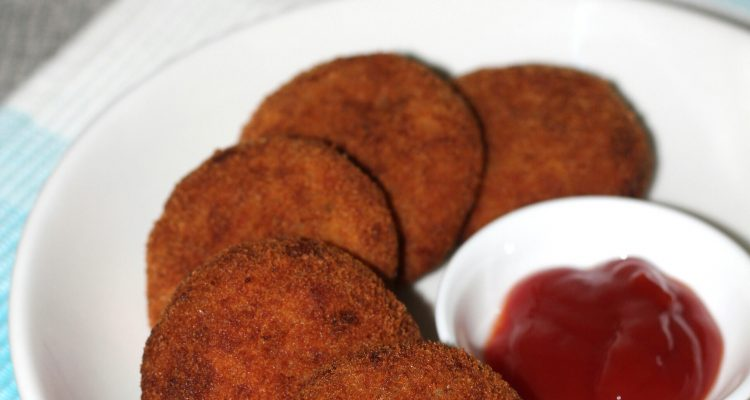 Minced chicken cutlet