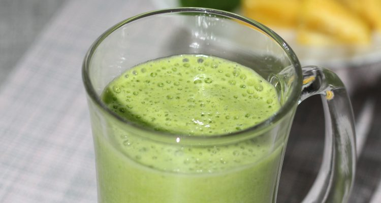 Pineapple spinach blend